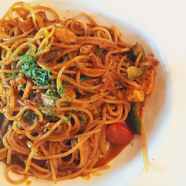 Tom Yum Cremoso Is my current fave pasta from supply and demand.