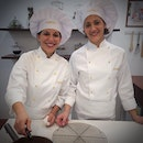 The beauties behind the golden-foil-wrapped chocolate treasures - Ferrero Rocher.