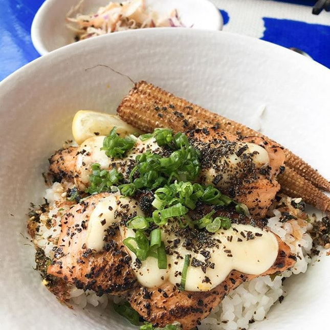 Yuzu Salmon Bowl