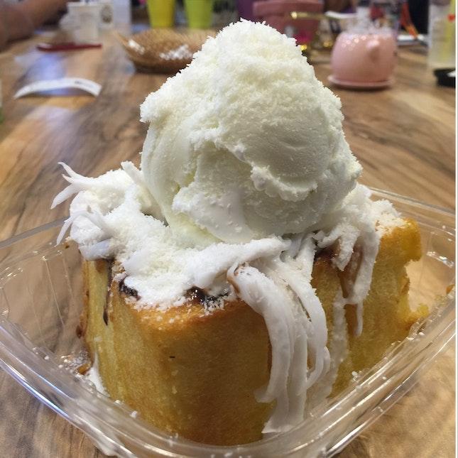 Coconut Shibuya Toast ($10.80)