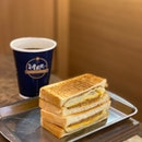 Pork Egg And Cheese Sandwich ($8.90 With Black Cane Sugar Tea)