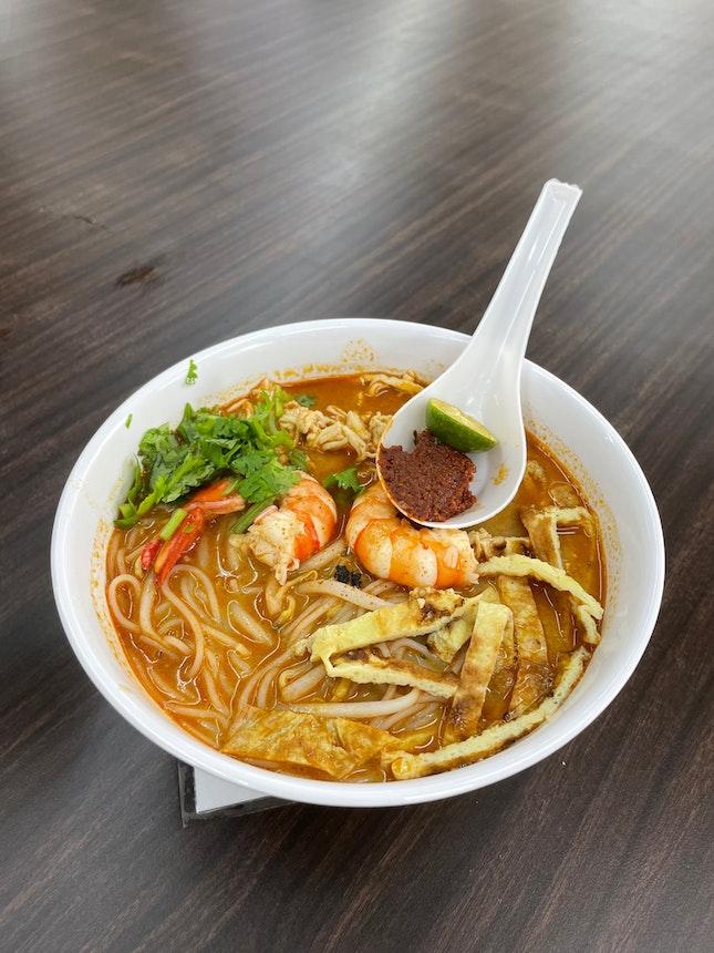 Aromatic & Tasty Sarawak Laksa