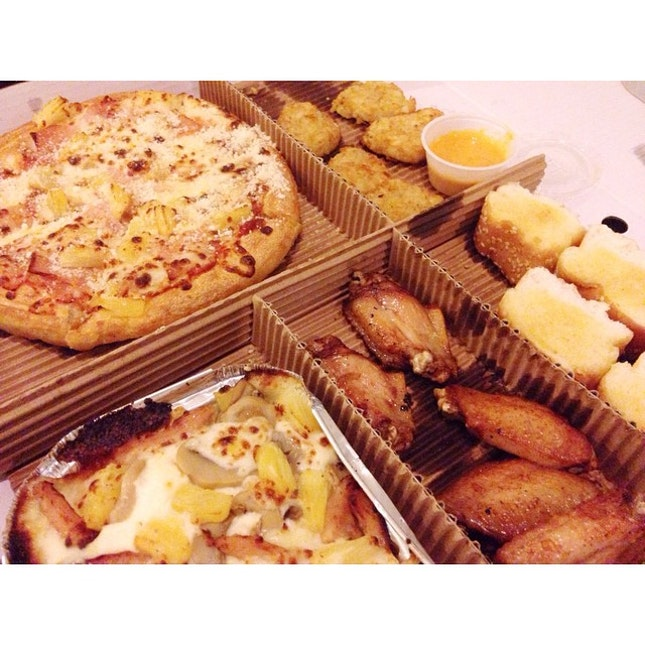 Hi, I see you again  #pizzahut #delivery #lunchtime #pizza #awesome