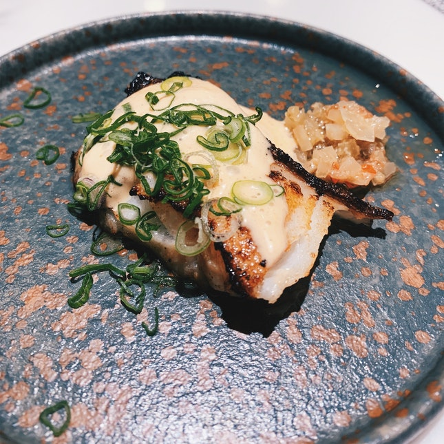 Pantagonian Toothfish with Asian Relish & Fresh Herbs 