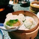 Steamed Shrimp & Silky Gourd Dumpling