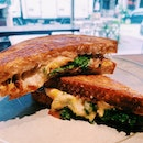 Kale Grilled Cheese