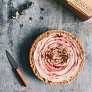 Raspberry Ripple Pie