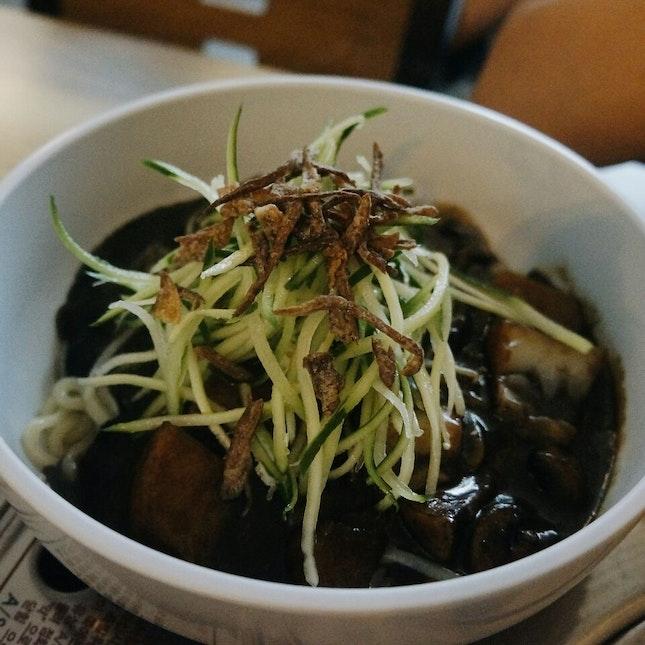 Vegetarian Jajangmyeon