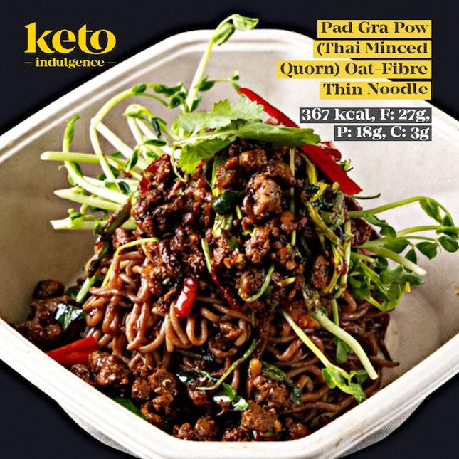 Quorn Pad Gra Prow Oat Fibre Noodle (Vegetarian)