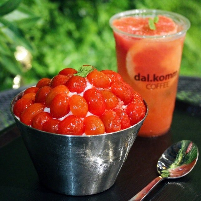 Cherry Tomato Bingsu