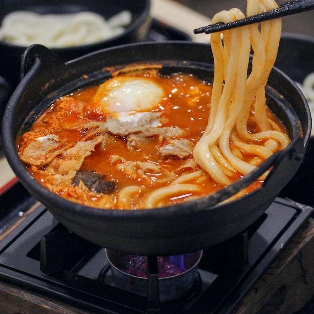 Pork Spicy Miso Udon