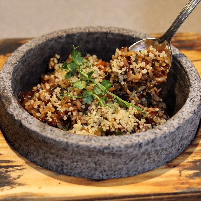 Sizzling Quinoa Brown Rice
