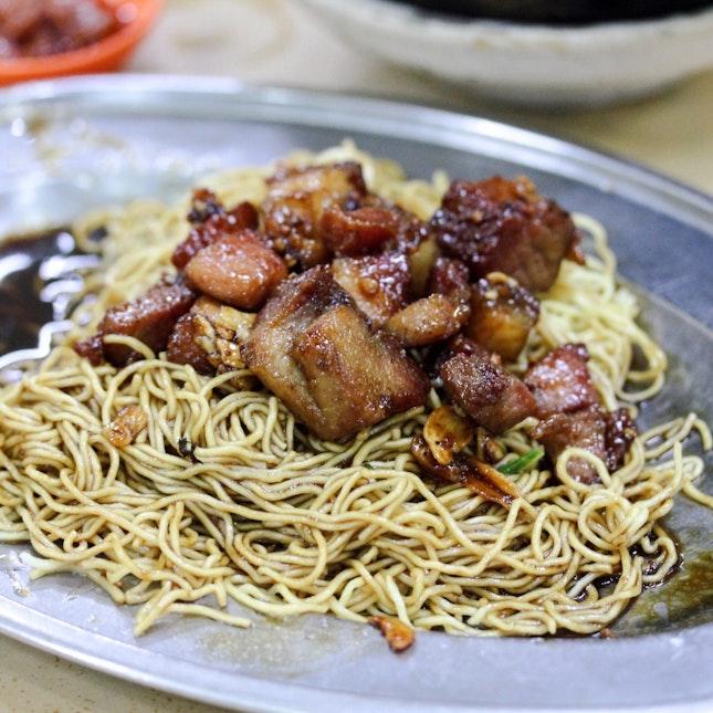 Majestic BBQ Pork Noodles