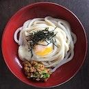 Natto Udon (納豆うどん)