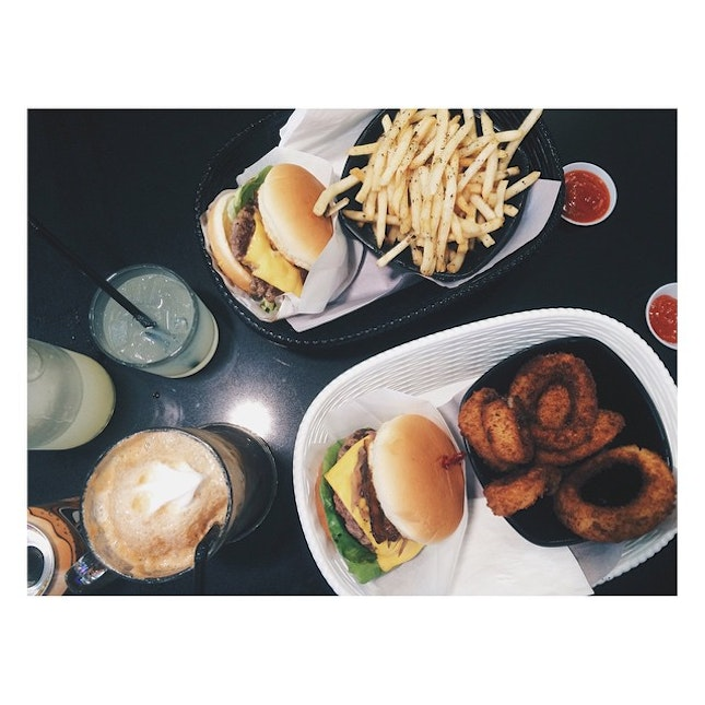 The onion rings are the bomb.