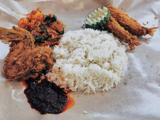 Yummy Singapore Nasi Lemak