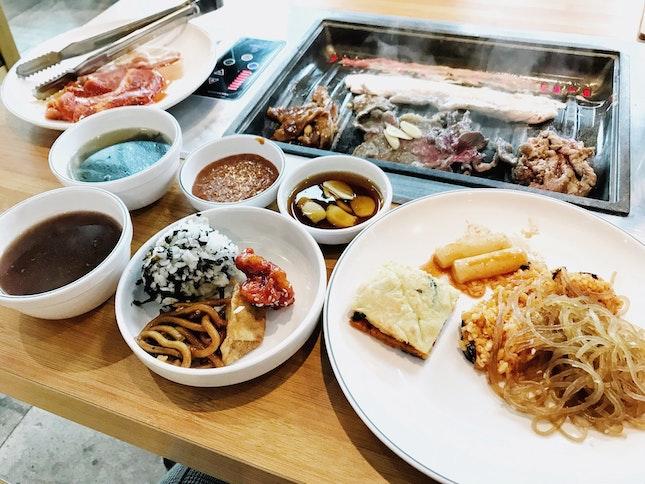 Affordable Korean BBQ at Orchard