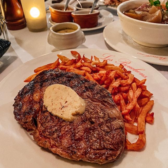 Overrated & Overpriced Rib Eye Steak