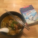 Vegan Tom Yum Noodles