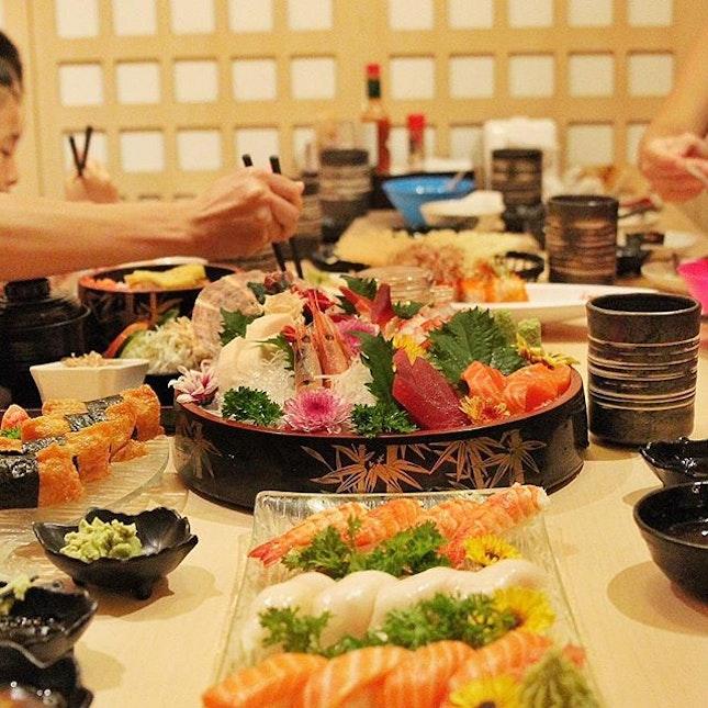 🇲🇾 Japanese Sashimi in Pelangi!