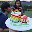 Because it's not just about the rainbow cake, but the people you create rainbows with!