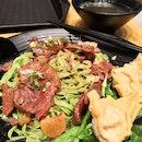 Beef Brisket Spinach Noodle ($8.8)