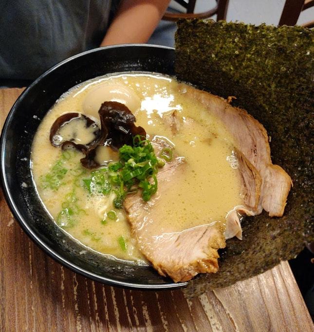 Tonkotsu Ramen + All Toppings ($15.90++)