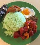 Toa Payoh Food Centre (Blk 75) Nasi Lemak.