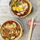 Claypot noodles for me!