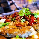 Chong Qing Grilled Fish Throwback to mala fish with the foodie friends~