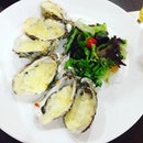 #baked #oyster baked really well