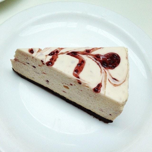 #raspberry #cheesecake