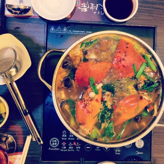 Dinner No.1: 膏。肉蟹煲 #holiday #hongkong #foodporn
