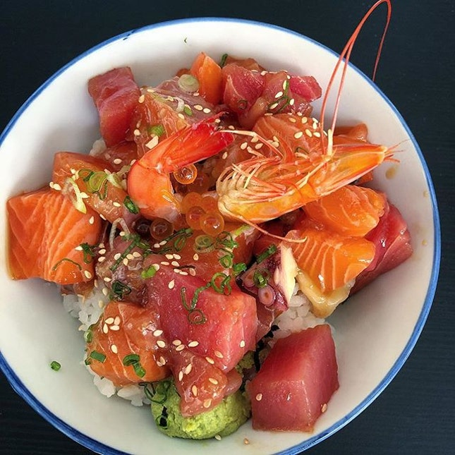 So everyone has been raving about this value for money Bara Chirashi Don ($10).