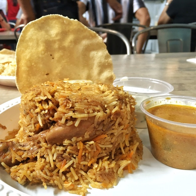 Chicken Dum Biryani ($9)