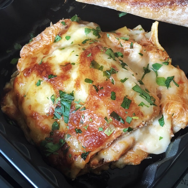 Swimmer Crab Lasagna