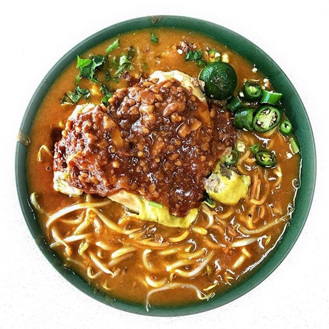 Power Mee Rebus // Besides their famous Mee Soto, Rahim does a pretty decent Mee Rebus as well.