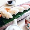 Rainy day sushi weather...