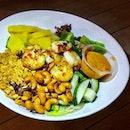 A yummy prawn salad from #thelawnsg :) #yummy #prawnsalad #sgcafe #sgfood #foodsg #foodporn #burpple