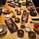 A Japanese Omakase feast tonight :) #omakase #feast #NoYushengForOnce #ginzayoshihiro #sgfood #sgrestaurant #foodporn #burpple