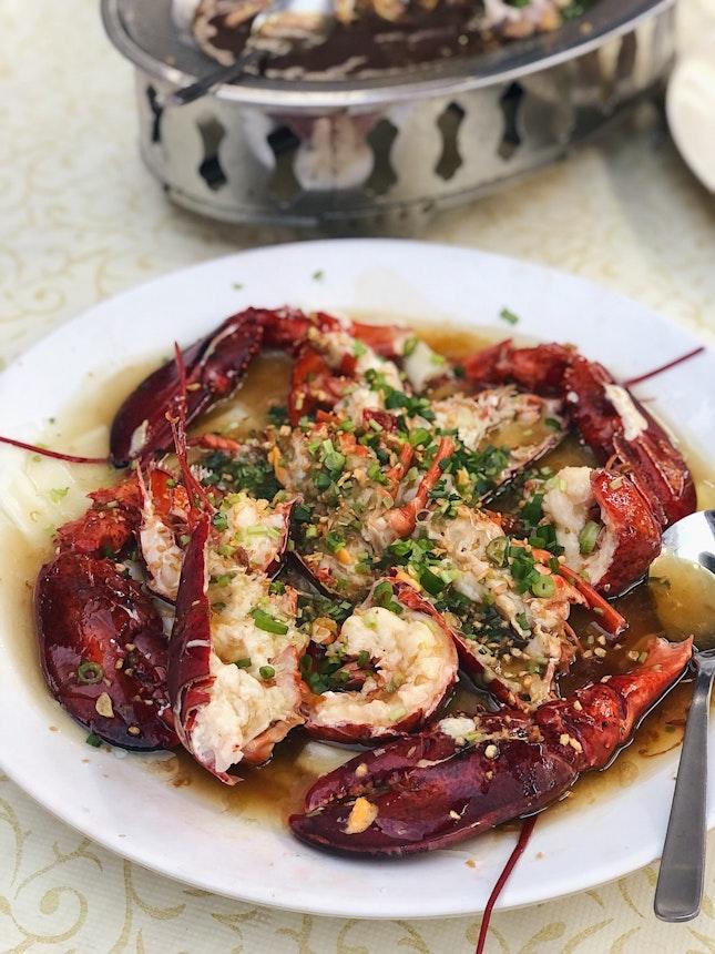 Lobster Chee Cheong Fun