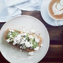 Nothing beats avocado on toast on mornings like this.