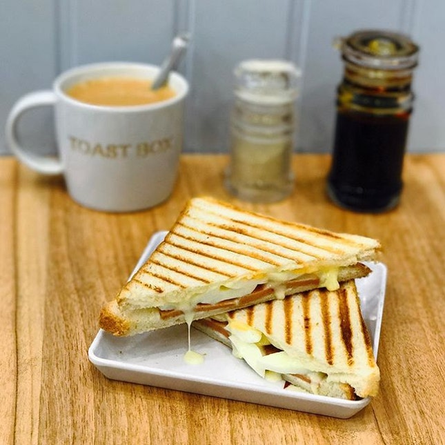Coffee, tea or toast?