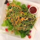 Seagull (S$8) ~ wholesome, healthy and  low cal Konjac noodle salad with chicken and mushroom!