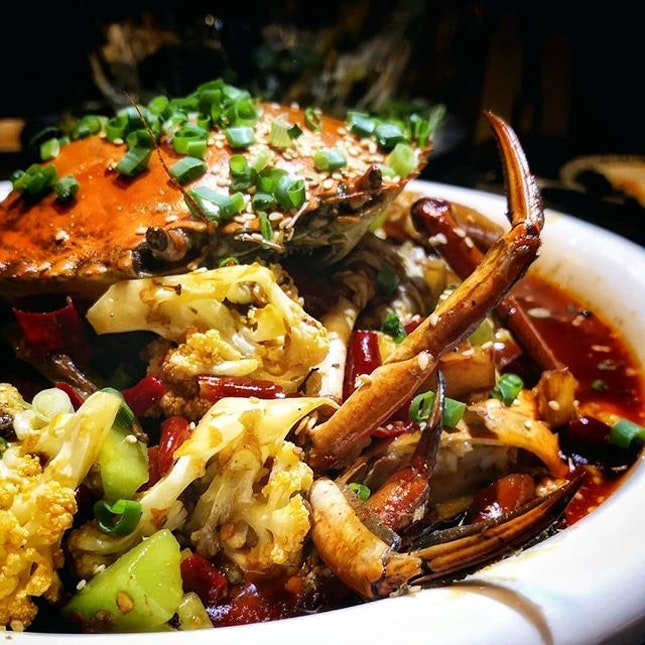 FACT: Crab makes life more interesting.