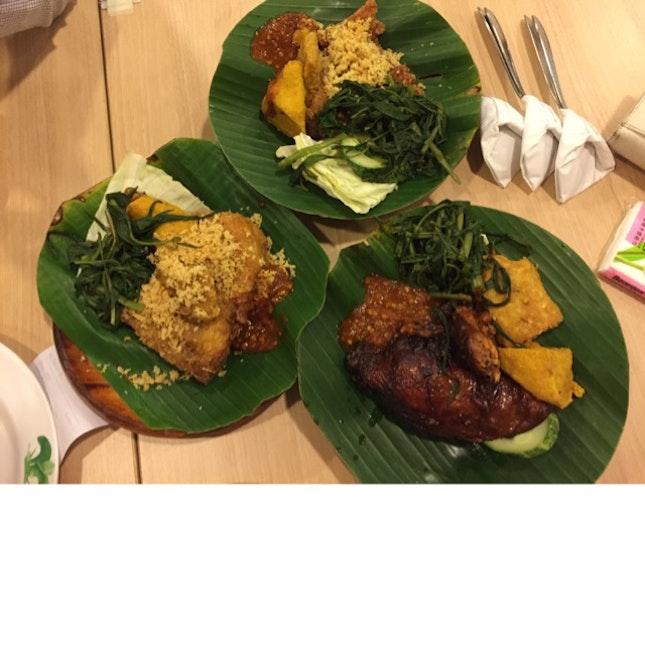 Ayam Bakar And Ayam Penyet