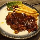 Black Pepper Chicken Cutlet @ The Grumpy Bear [$16.90 / 2]
