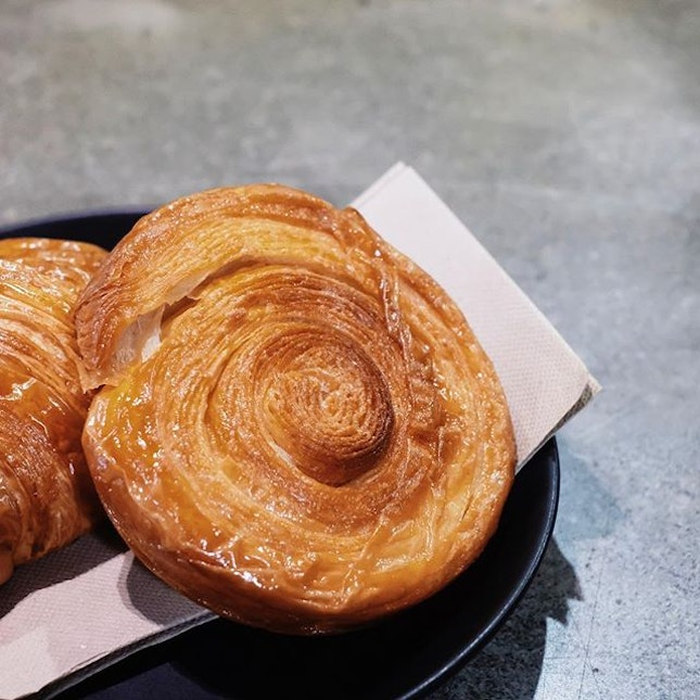 Thoroughly missing the Kouign Amann from @lunecroissant today.