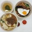 dry chilli ban mian ($4.50) & mee hoon kuay soup ($4)