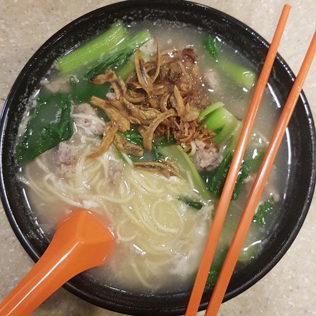 you mian ($4.50) from Long Hui Ban Mian